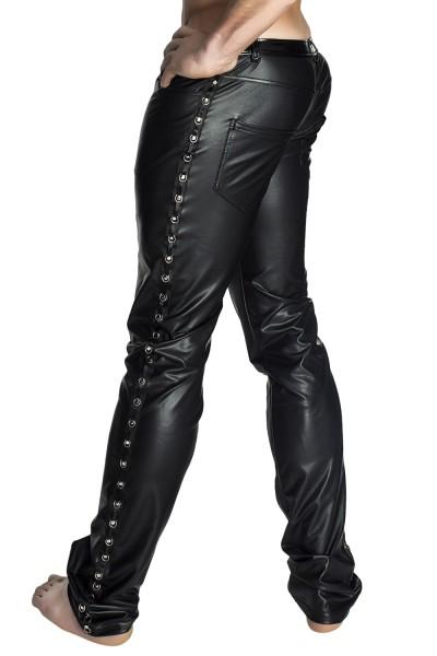 schwarze lange Hose H039 von Noir Handmade ab 4XL Auslaufartikel